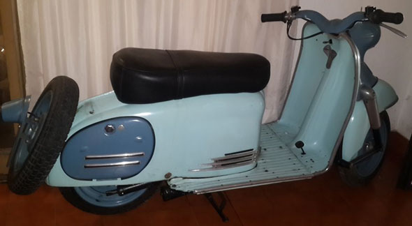Motorcycle Puch Sra 150