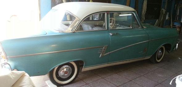 Auto Ford Taunus 1958