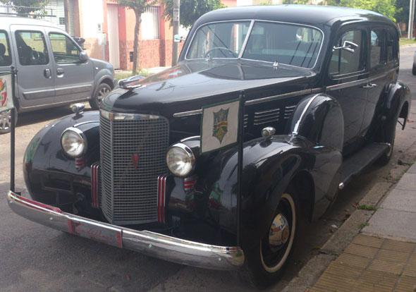 Auto Cadillac 1938