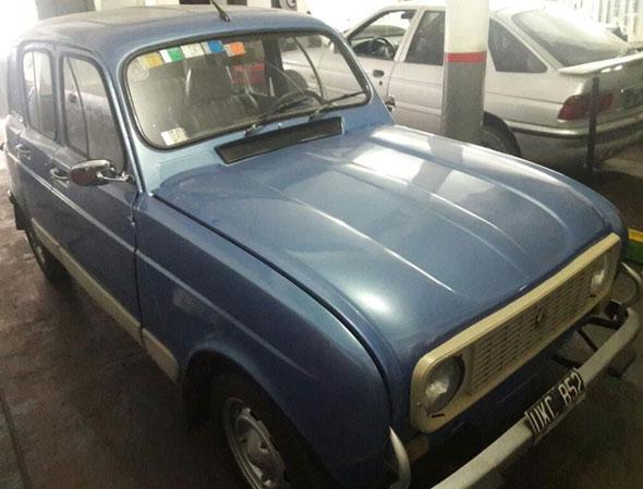 Car Renault 4 XL G 1986