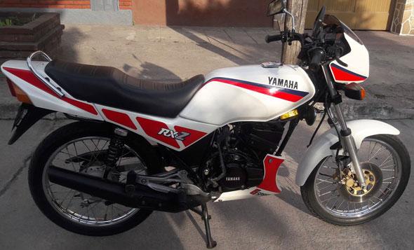 Motorcycle Yamaha RXZ135