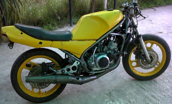 Motorcycle Yamaha RZ 250
