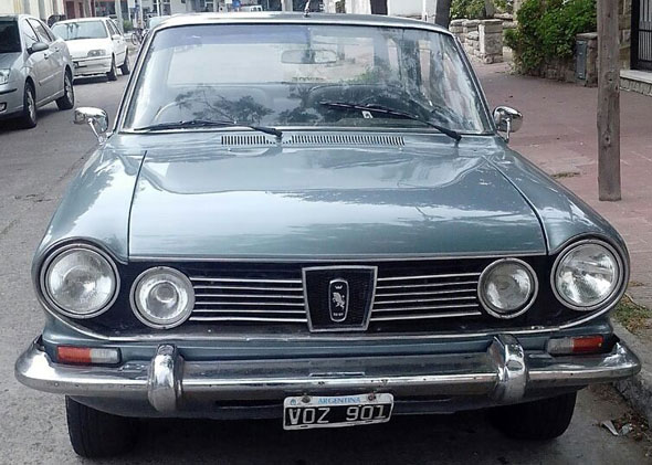 Car IKA Torino TS 1971 Coupé