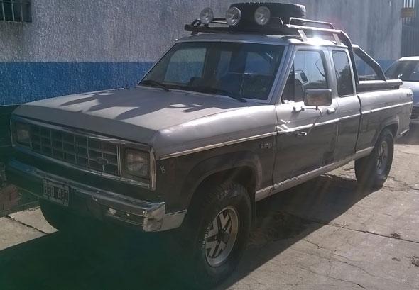 Car Ford Ranger 4x4 Xlt Americana