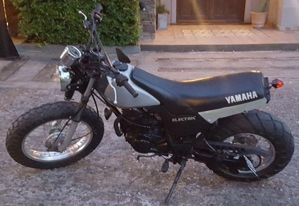 Motorcycle Yamaha TW 125 Japón Tracker