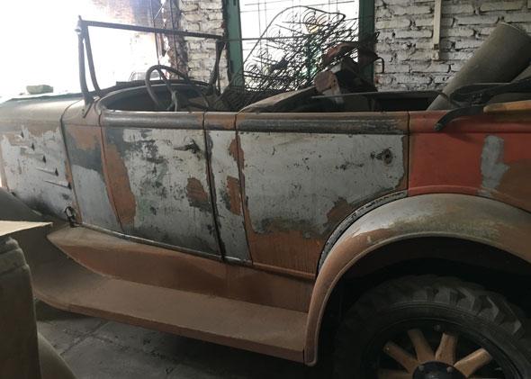 Car Durand Phaeton 1930