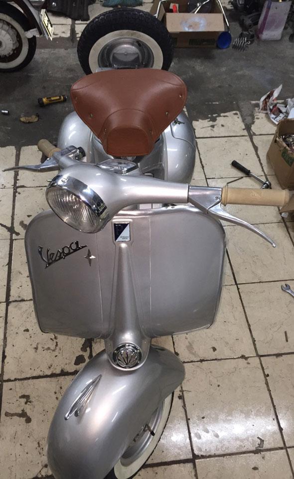 Motorcycle Piaggio Vespa