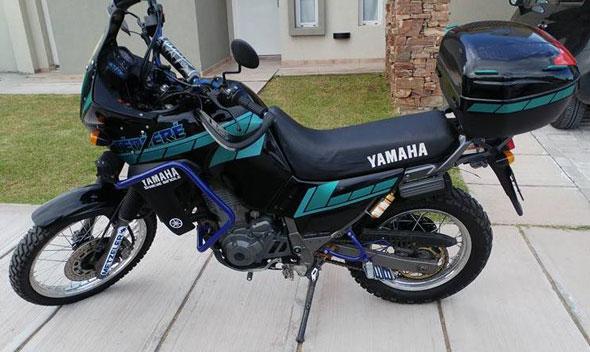 Car Yamaha XTZ Tenere 660