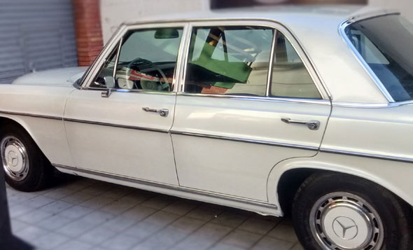 Auto Mercedes Benz 1969
