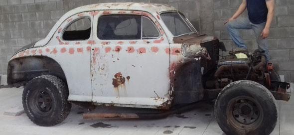 Car Ford Coupé Mercury 1947