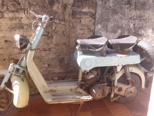 Motorcycle Sachs Cavini Caccia