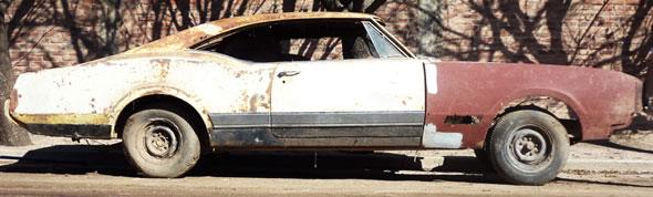 Car Oldsmobile Delta Custom 1967