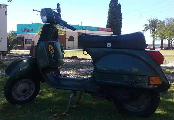 Motorcycle Vespa Originale 150