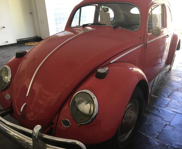 Auto Volskwagen Escarabajo