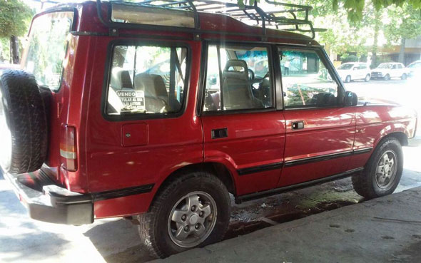 Auto Land Rover Discovery