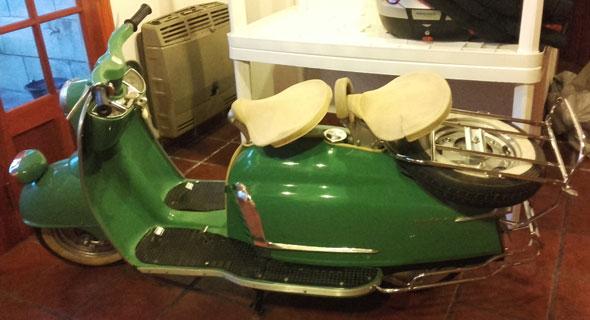 Moto NSU Prima 175 1956