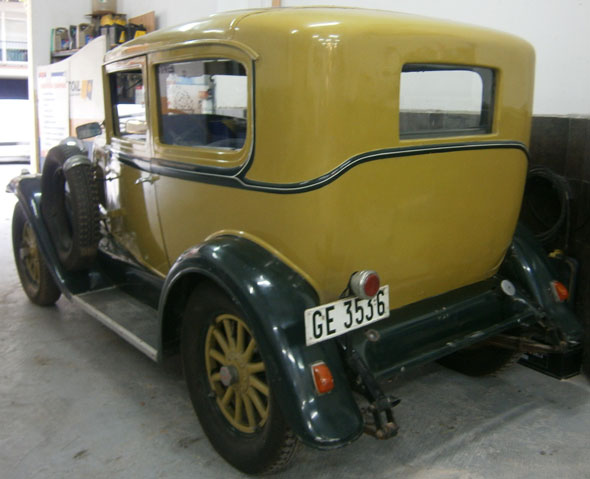 Car Willys Whippet Overland Four