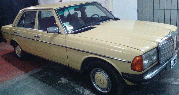Car Mercedes Benz 300 D 1978