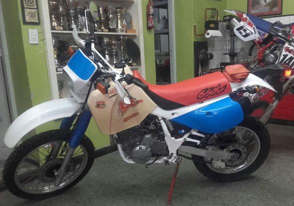Moto Honda XR 650L