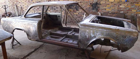 Car Fiat Coupé 1500 1968