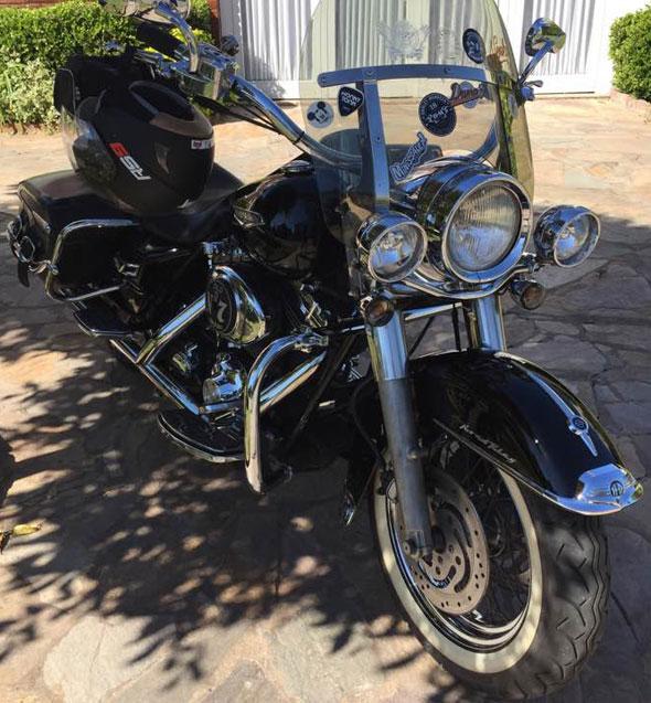 Moto Harley Davison Road King Classic