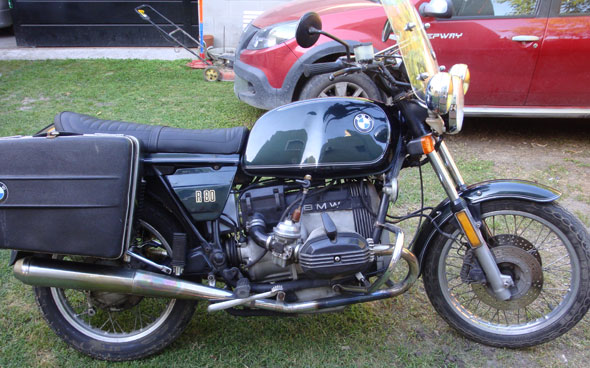 Motorcycle BMW R80