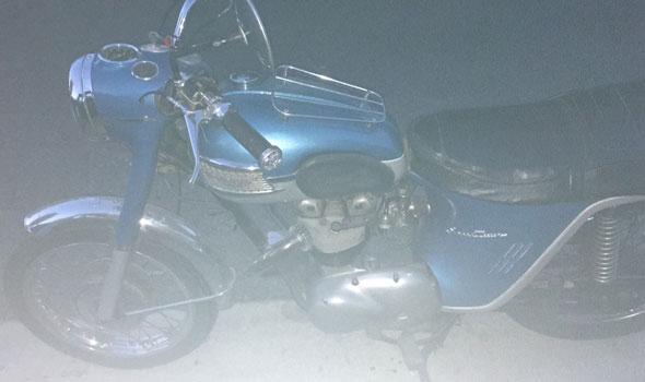 Moto Triumph Speedtwin