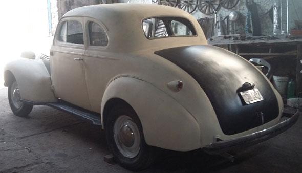 Auto Chevrolet Coupé 1939