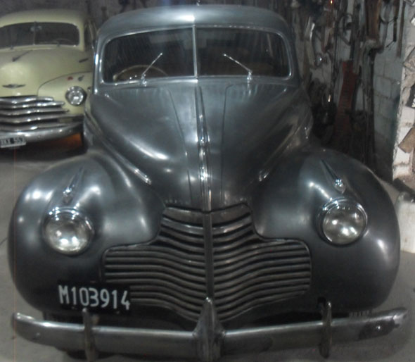 Car Buick Eight Suoer 8 1940