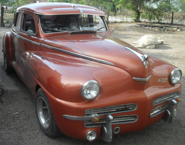 Car Desoto Chrysler Custom 1948