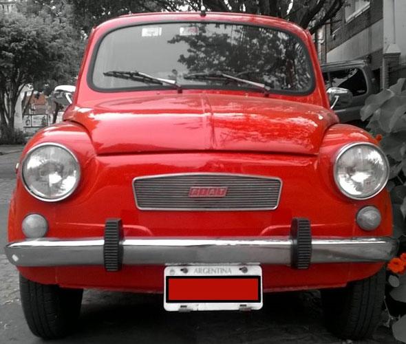 Auto Fiat 600R 1972
