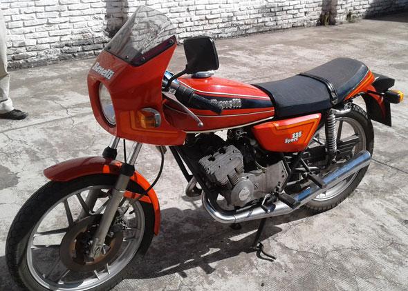 Moto Benelli 125 Sport 1980