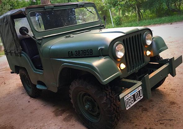 Car Jeep 4x4