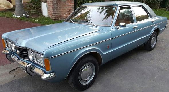 Car Ford Taunus GXL