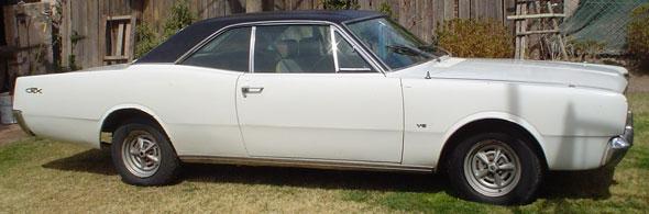 Car Dodge GTX V8