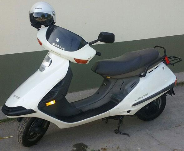 Motorcycle Honda CH 150 Elite