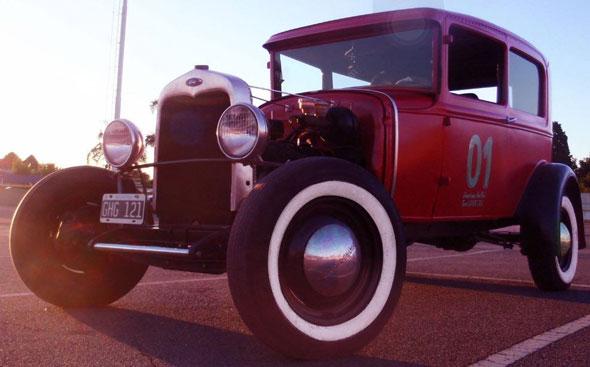 Car Ford A 1930 Tudor
