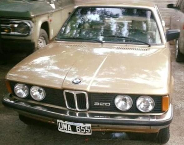 Car BMW 320 1981