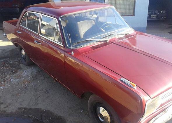 Car Opel Rekord Olympia B