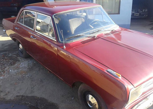Auto Opel Rekord Olympia B