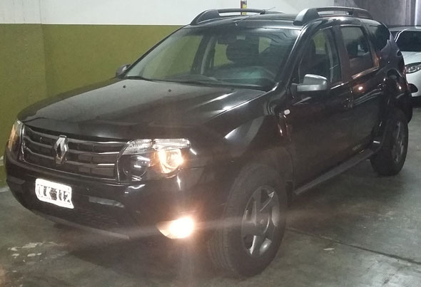 Car Renault Duster Tech Road 4x4
