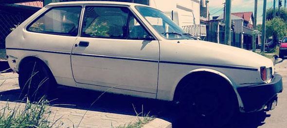 Car Ford Fiesta MK II