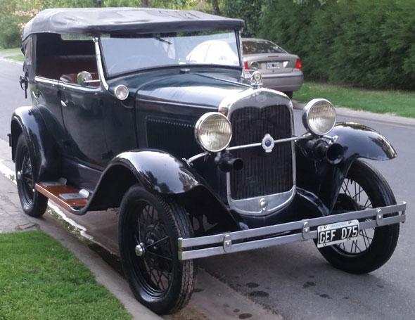 Auto Ford A 1931 Phaeton