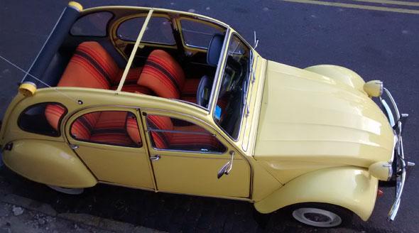 Car Citroen 3 CV