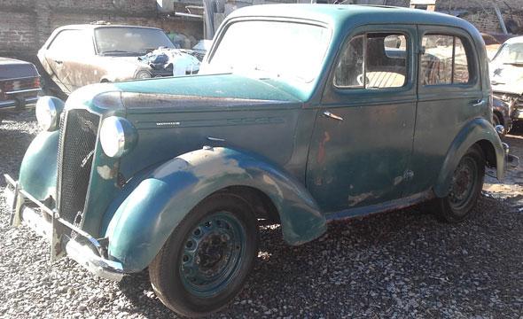 Auto Vauxhall 1947