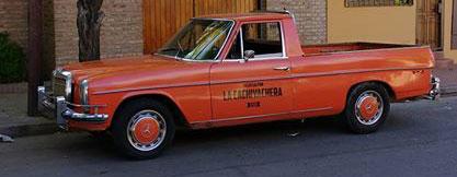 Car Mercedes Benz 1973