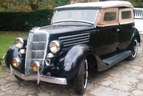 Car Ford V8 Pheaton 1935