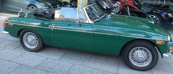 Car MG F