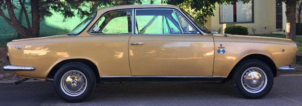 Auto Fiat 1500 Coupé 1968