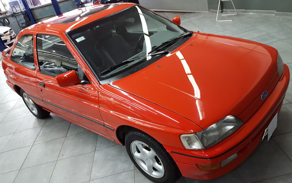 Car Ford Escort XR3 2.0